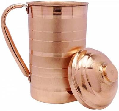 CopperKing Classic Touch Jug 1250ml, Water Drinking in Copper