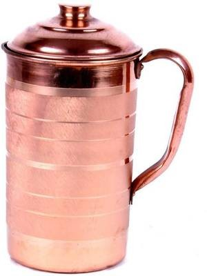 CopperKing Classic Touch Jug 1650ml, Water Drinking in Copper Vessel