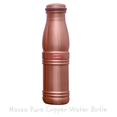 CopperKing Manza Pure Copper Water Bottle – 900ml