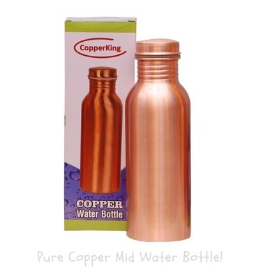 CopperKing Pure Copper Water Bottle – 750ml