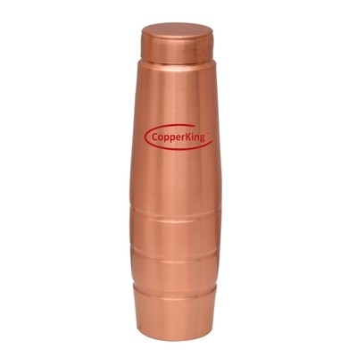 CopperKing Premium Pure Copper Water Bottle 1000ml