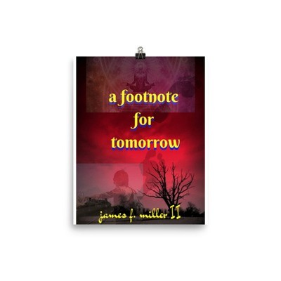 AFFT Red Sky Hitchhiker Book Cover Poster