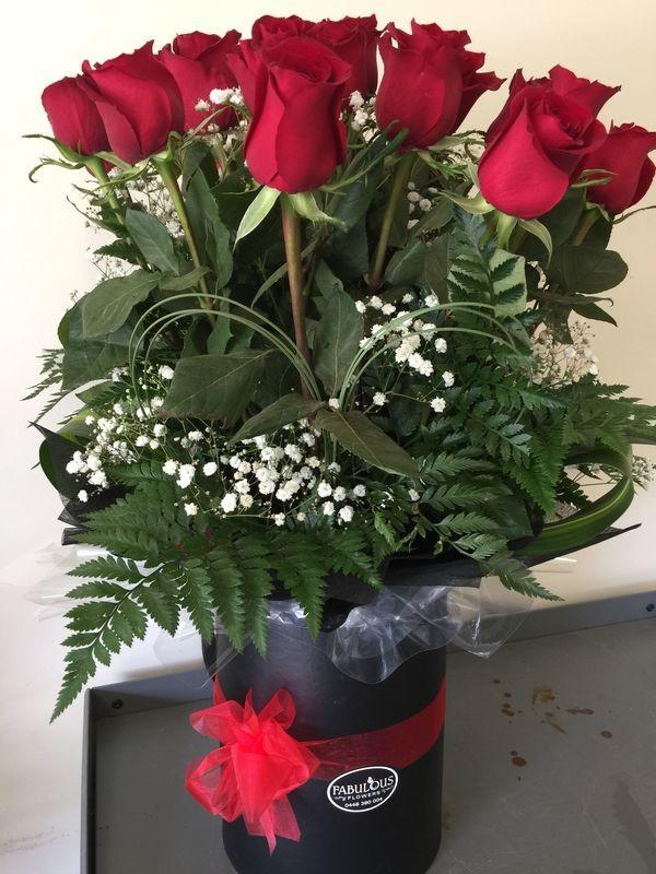 Romantic Roses - One (1) Dozen