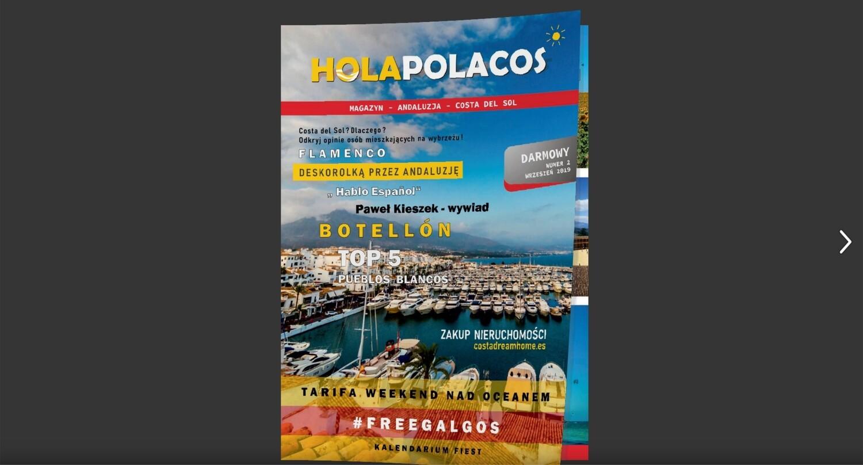 Magazyn online Hola Polacos 2