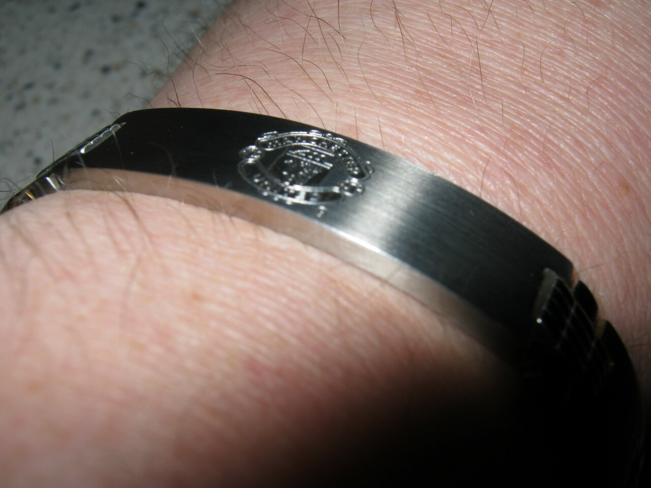 Manchester United Bracelet with opening-clasp - men's