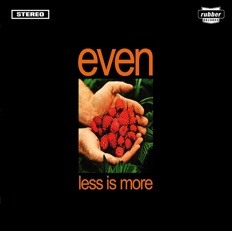 EVEN - Less Is More - 180 gram Black Vinyl Reissue LP - Limited Edition EM23