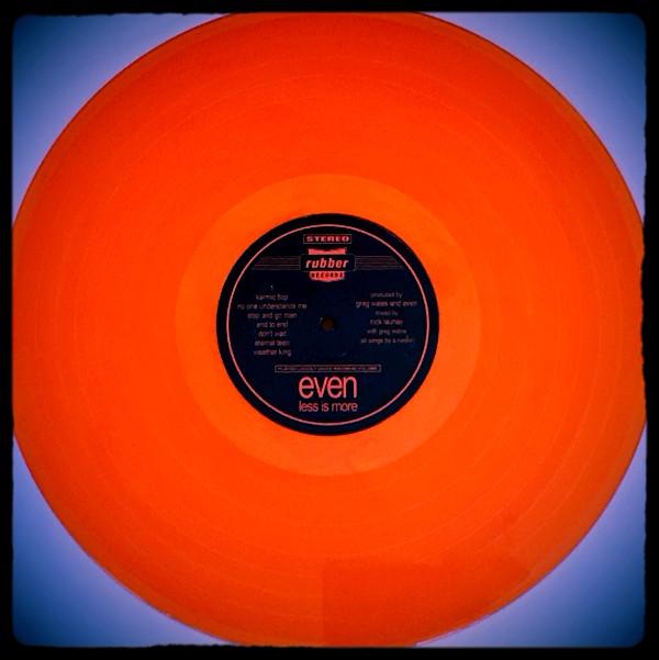EVEN - Less Is More - Orange Vinyl Reissue LP - Limited Edition EM22