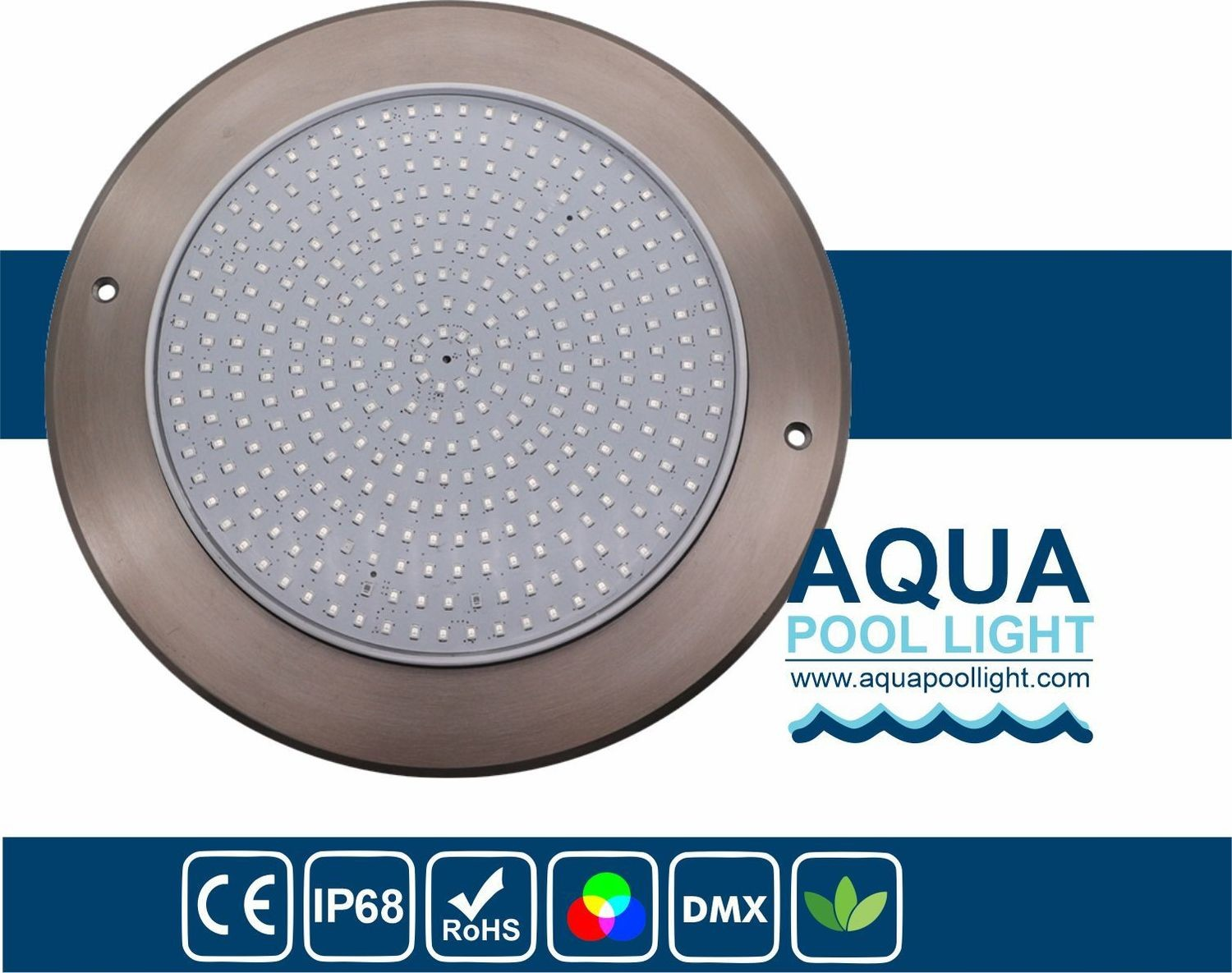 Ultral Thin 8mm Thickness LED Swimming Pool Light 24W 230X8mm