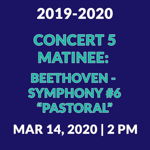 Concert 5 Matinee | Beethoven