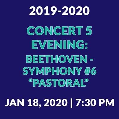 Concert 5 Evening | Beethoven