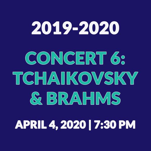 Concert 6   Tchaikovsky & Brahms