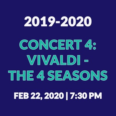 Concert 4 | Vivaldi - The Four Seasons
