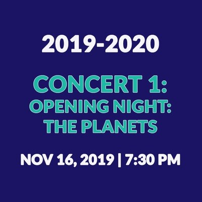 Concert 1 | Opening Night: The Planets