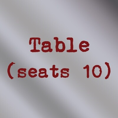 Table (seats 10)