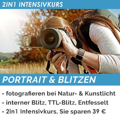 Portrait & Blitzen