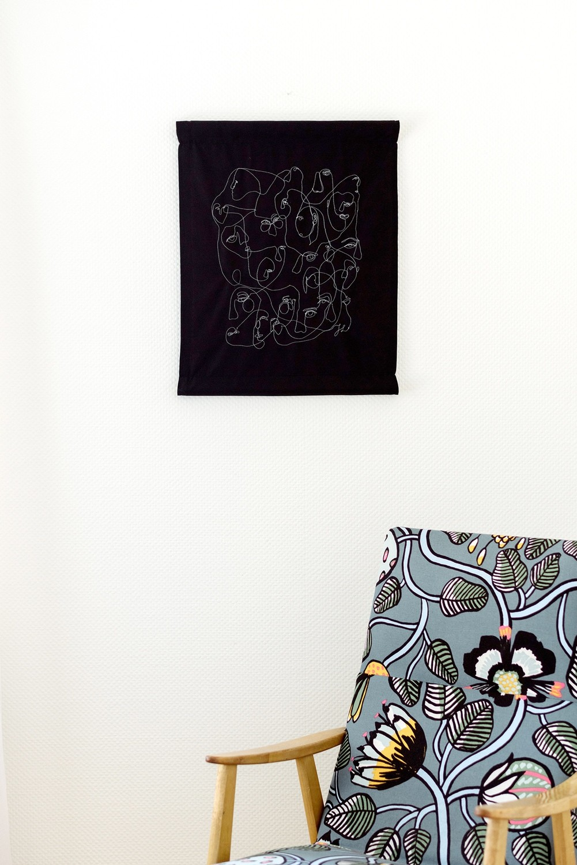 """Facing"" Wall Art"