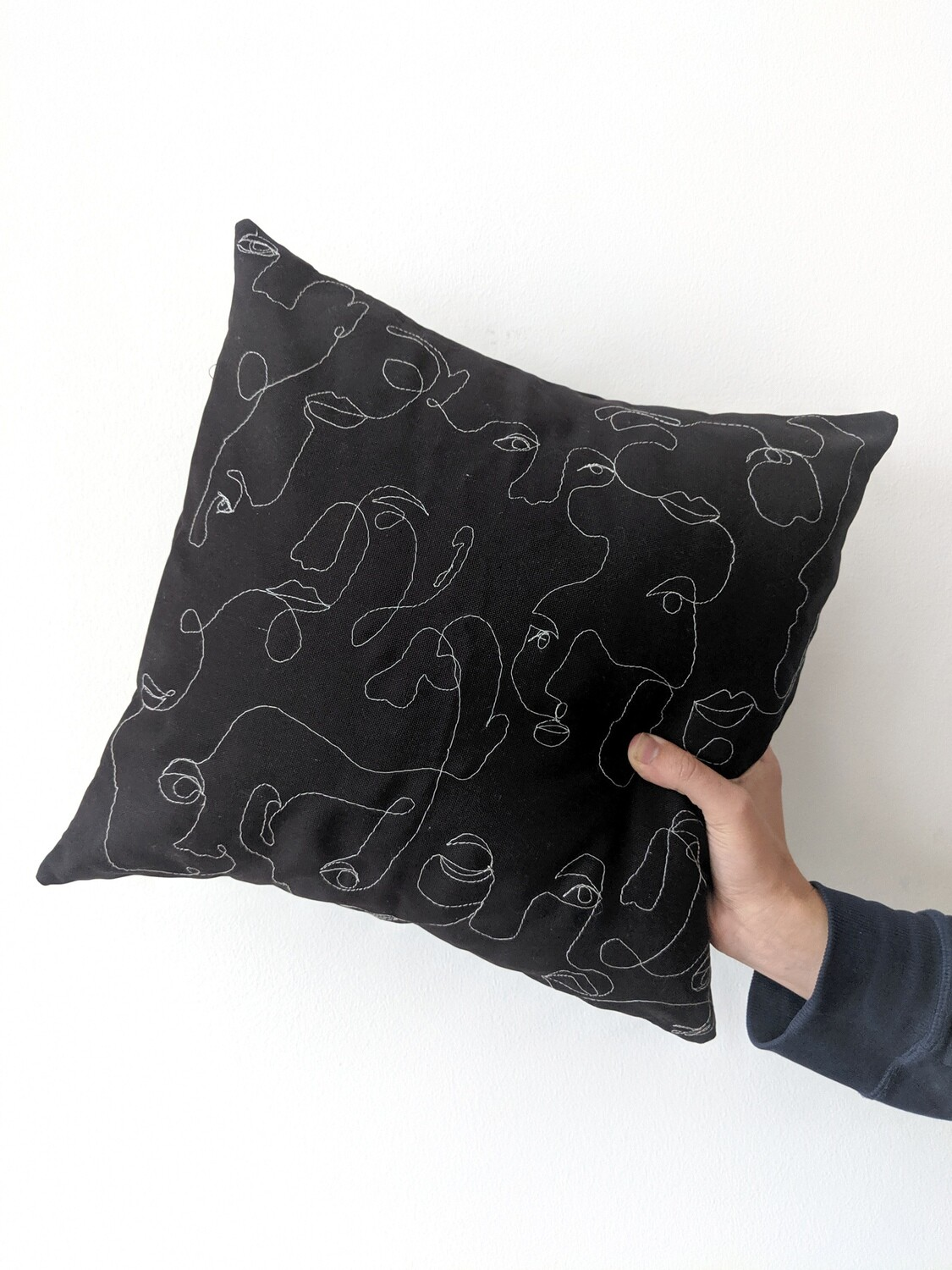 """""""Crowd"""" Pillow Cover"""