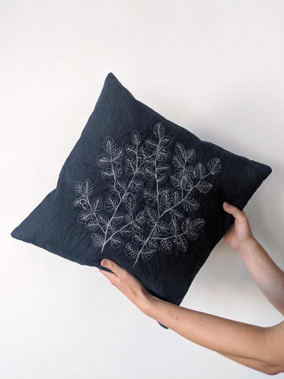 """""""Blueberry"""" Pillow Cover"""