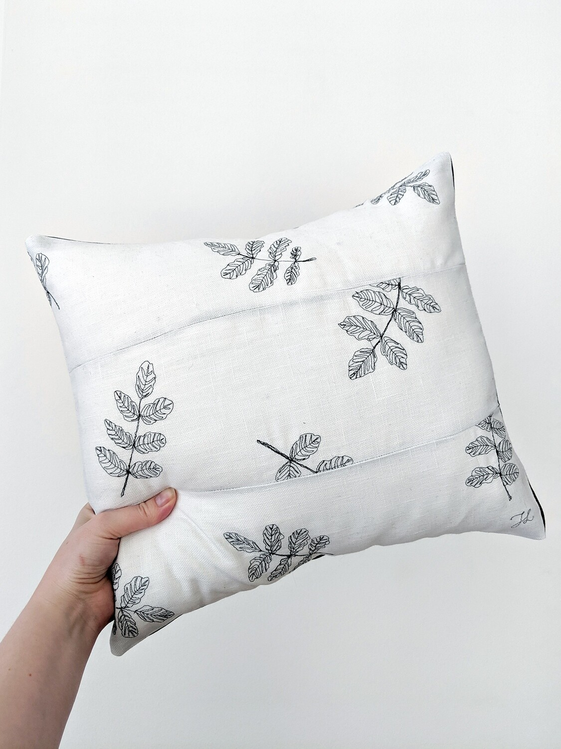 """Leaves"" Pillow Cover"