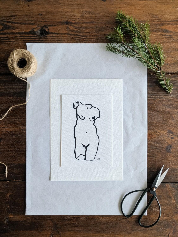 """""""Sculpture"""" Illustration Gift Bundle"""
