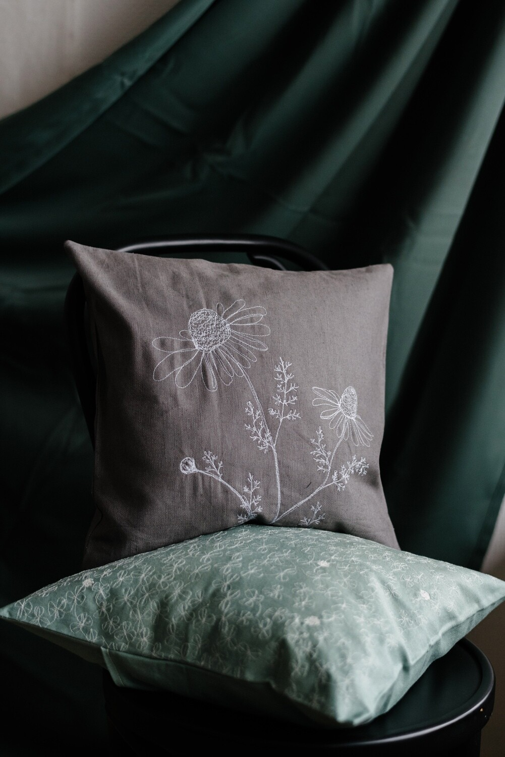 """Chamomille"" Pillow Cover"
