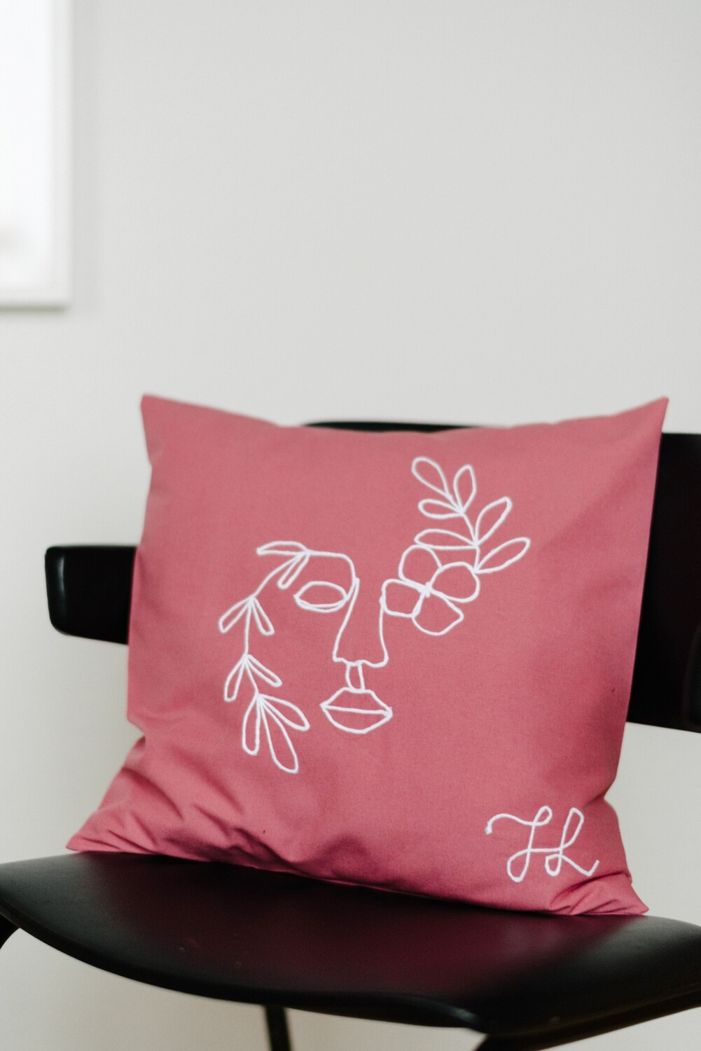 """Blooming"" Pillow Cover"