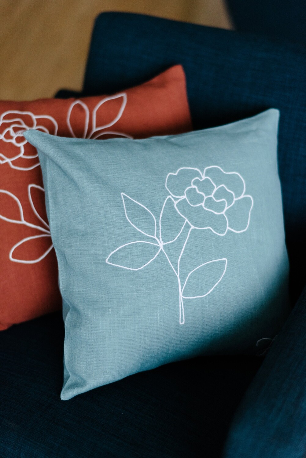 """""""Peony"""" Pillow Cover"""