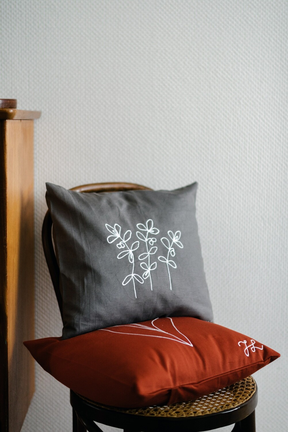 """Lingon"" Pillow Cover"