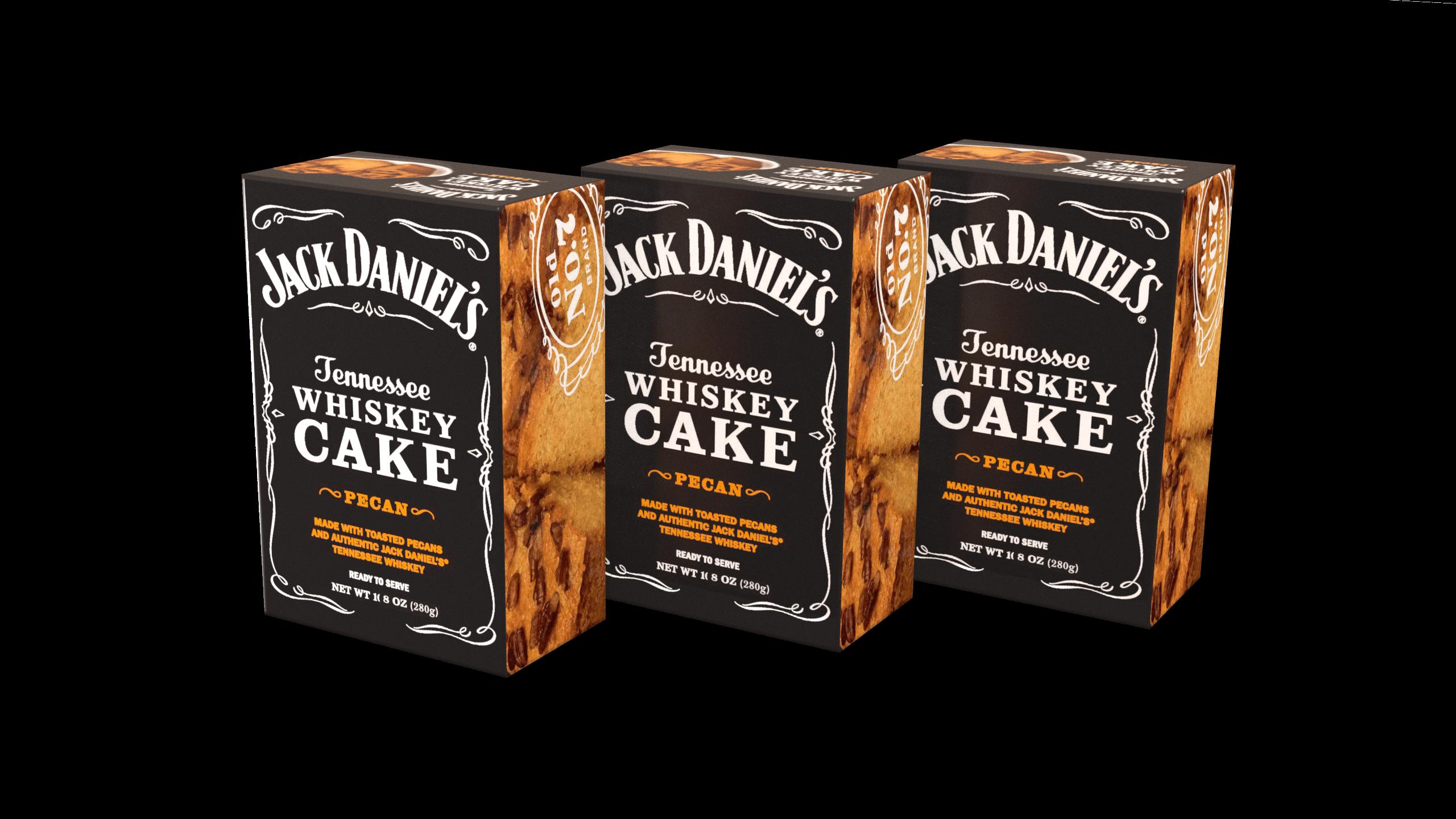 3-Pack of Jack Daniel's Tennessee Whiskey Cake - Pecan JD308PCN
