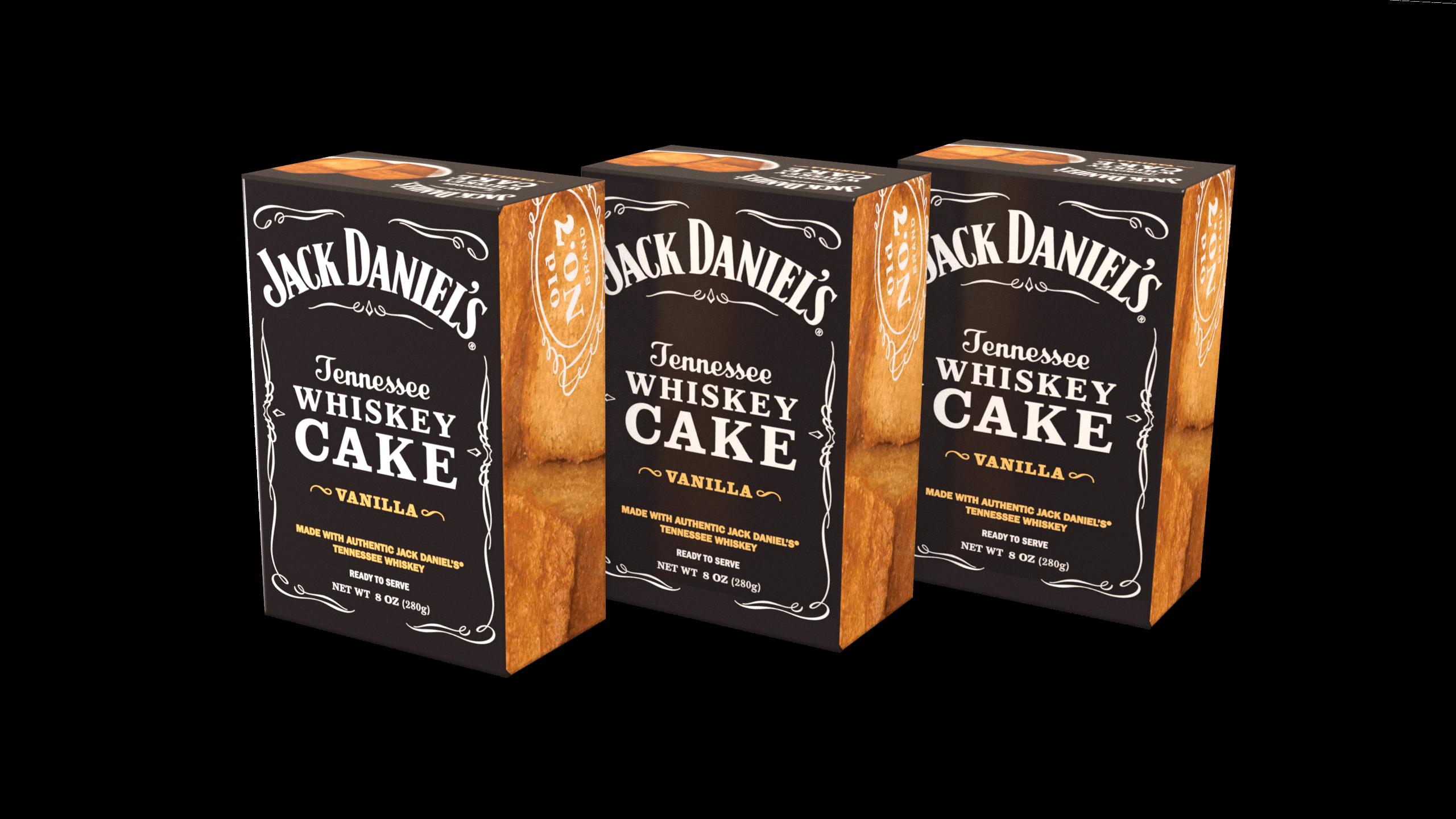 3-Pack of Jack Daniel's Tennessee Whiskey Cake - Vanilla JD308VNL