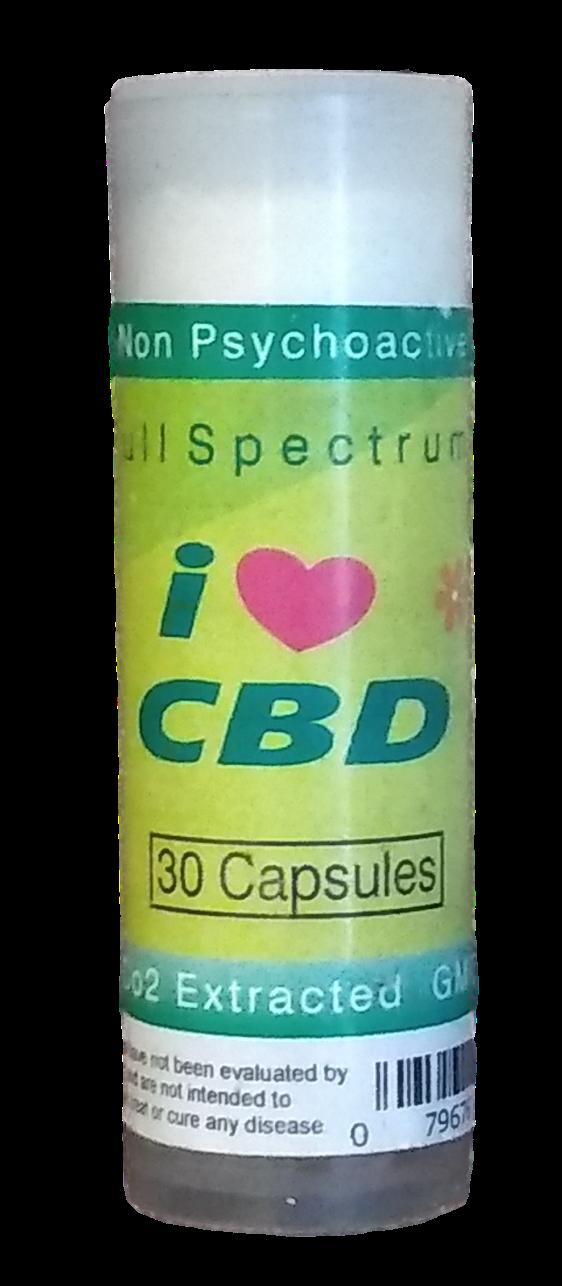 CBD 10mg 30 Capsules