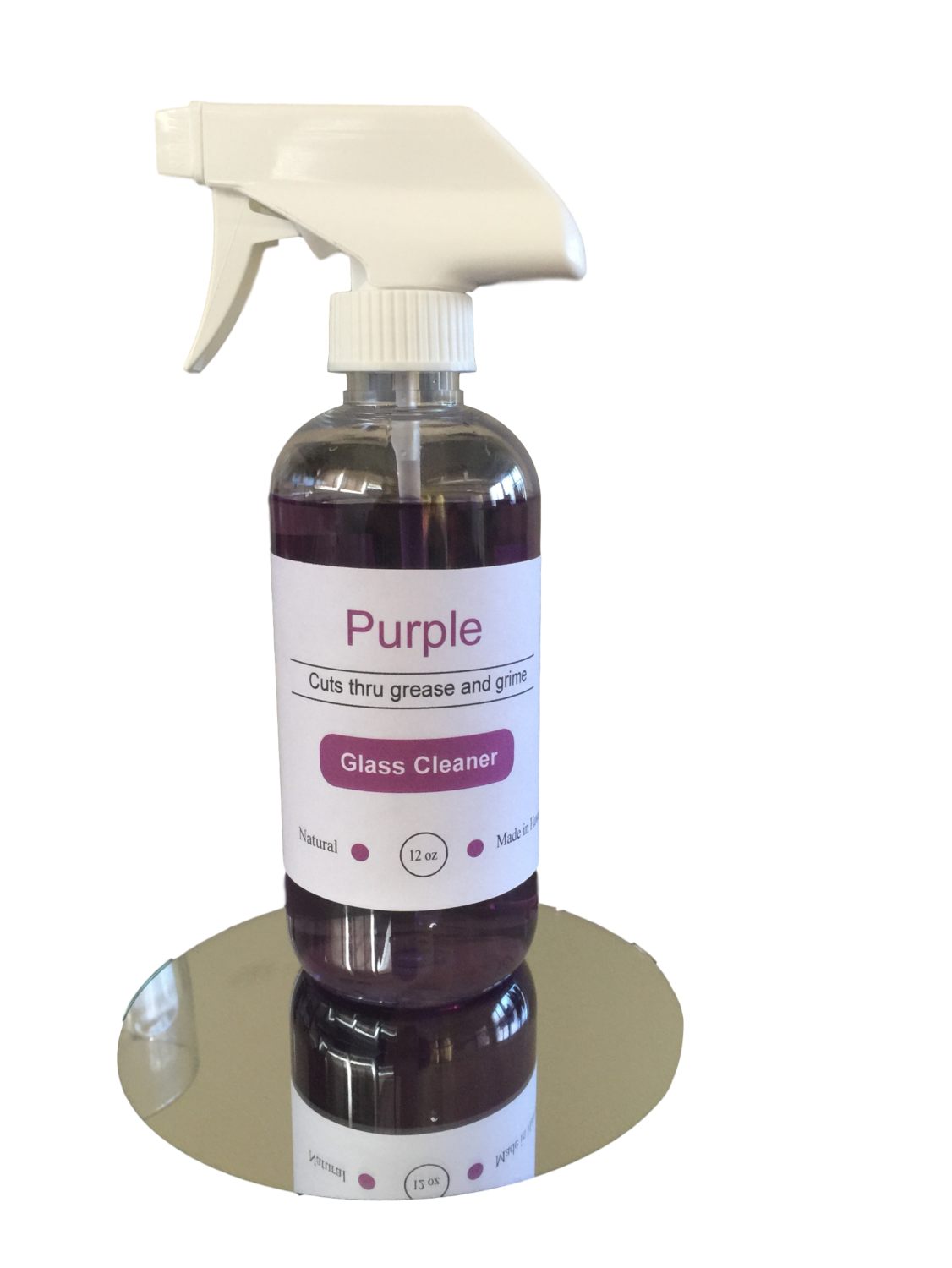 Purple Glass Cleaner 12 oz
