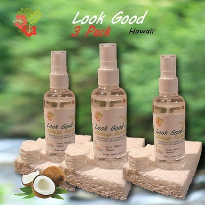 Look Good Makeup Remover All Natural 3 PACK