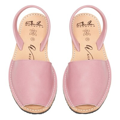 Avarcas Dusty Pink Leather