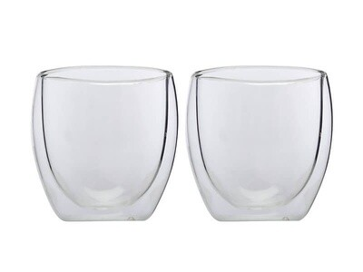 Blend Double Wall Cup 250ML Set of 2