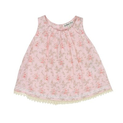Pretty In Pink Pleat Top
