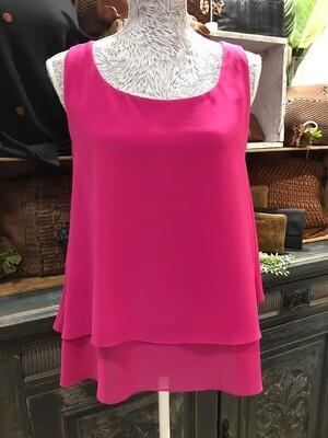 Paris Swing Tank Hot Pink