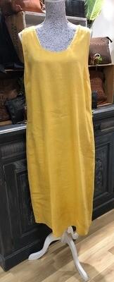 Linen Dress Gold
