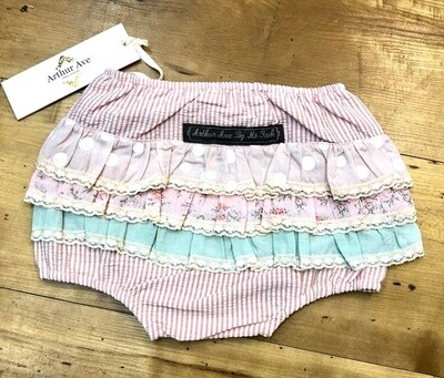 Pinstripe Frilly Bums