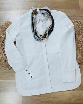 Layered Shirt White
