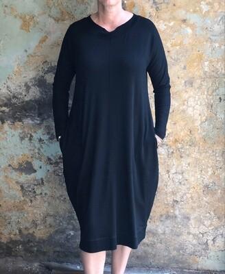 Manner Dress Black