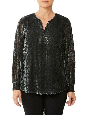 Forest Cheetah Blouse