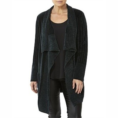 Forest Chenille Cardigan