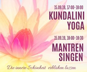 Kundalini-Yoga Workshop incl. Messe-Eintritt