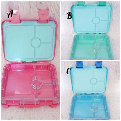 Personalised Bento Style lunchboxes