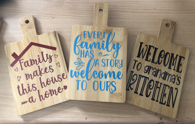 Decorative Mini Chopping Boards