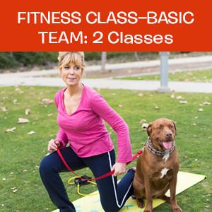 Item 02. Fitness Class – Basic Team: 2 Classes