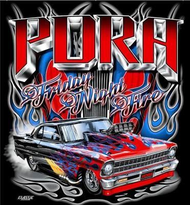 Friday Night Fire Design T-shirt