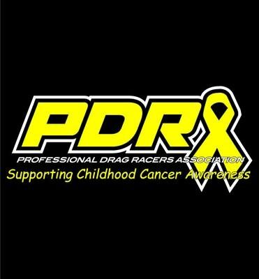 PDRA Childhood Cancer Awareness Design T-shirt