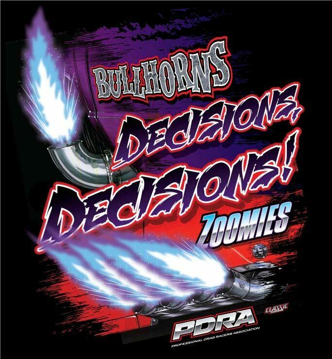 Bullhorns or Zoomies Design T-shirt
